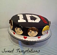 One Direction Cake - Birthday cake for a big ONE DIRECTION fan ;))