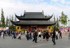 Xuanmiao Temple (Taoist) in Suzhou, Jiangsu.