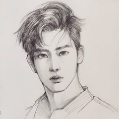 """Fan art of Jaehyun (재현) of NCT U (엔씨티 유) from their music video, """"Without You"""". 