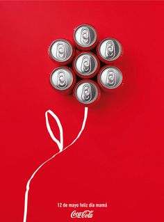 Time for some creative coke ads. Check out this collection of 25 of the coolest and most creative Coca-Cola ads. Ateriet - Food Ads and Food Culture. Creative Advertising, Mothers Day Advertising, Ads Creative, Creative Posters, Advertising Poster, Advertising Design, Advertising Agency, Apple Advertising, School Advertising