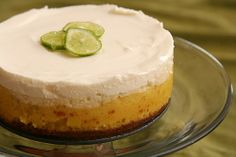 key lime cheesecake 6 by crumblycookie, via Flickr