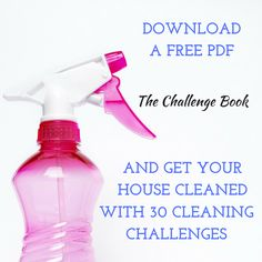 30 Day Cleaning Challenge #30daychallenge #cleaning #motivation
