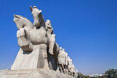 Monument to the Bandeiras São Paulo // AB   | #Brazil  #Travel