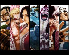 Shchibukai  One Piece Les 7 Shichibukai Houna Chan Photos Club