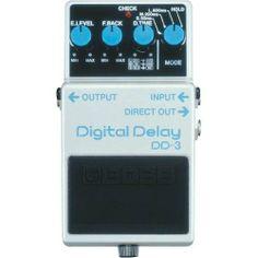 Boss DD-3 Digital Delay!