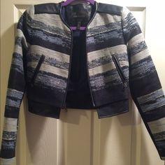BCBG Nixon Moto Jacket Cropped BCBG Moto Jacket BCBGMaxAzria Jackets & Coats Blazers