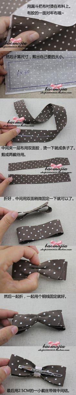 Tejido accesorios Lazo para el cabello