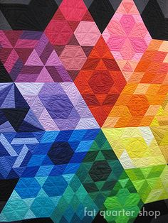 Gravity Quilt by Jaybird Quilts