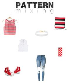 """""""Pattern Mixing"""" by deanna-monty ❤ liked on Polyvore featuring Vanessa Mooney, Casetify and Rhythm in Blues"""