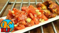 #154 Tomatensalat mit Gurke | schnell und einfach zubereitet | Kanal-ELF...
