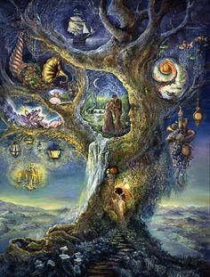 Tree of wonders - Josephine Wall