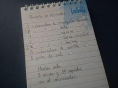 Día 10: R de... (R is for...). #FMSPhotoADay  Receta (Recipe)