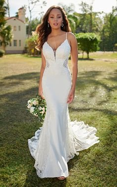 Lace Wedding Dress, Long Sleeve Wedding, Designer Wedding Dresses, Dream Wedding Dresses, Wedding Gowns, Wedding Blog, Backless Wedding, Wedding Ideas, Prom Dresses