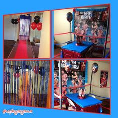wrestling John Cena Birthday Party