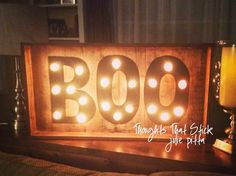 Thoughts That Stick.... #halloween#marquee#halloweendecor#DIYhalloween