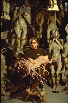David Cronenberg BTS of the Naked Lunch