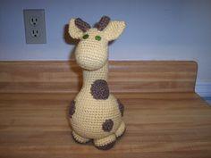 Ravelry: Gigi Giraf pattern by Marike van Loo
