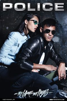Neymar Jr and Daniela De Jesus looking great in our brand new 2015  photoshoot. b4819f93a4