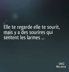 Damien Saez She Quotes, Quote Citation, French Words, Sad Day, More Than Words, Talk To Me, Quotations, Lyrics, Mood