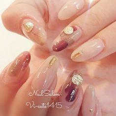 Round Nails, Oval Nails, Diy Nails Manicure, My Nails, Nail Polish Designs, Nail Art Designs, Cute Nails, Pretty Nails, Elegant Nail Art
