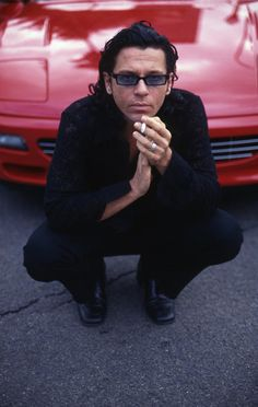 Michael Hutchence of INXS                                                                                                                                                                                 More
