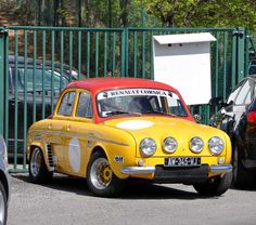1967 Renault Dauphine Gordini. My first car was a Dauphine; though I could only propel it up & down our ( very short ) drive !