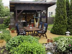 Compost, Lakeside Cottage, She Sheds, Summer Kitchen, Outdoor Living, Outdoor Decor, The Great Outdoors, Terrace, Patio
