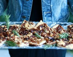 Caramelized Onion Squares