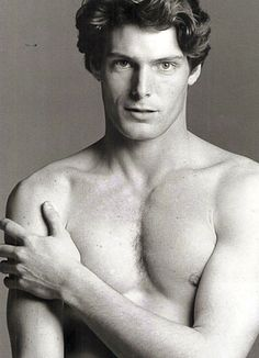 "Christopher Reeve - photographed by  Francesco Scavullo. Truly an ""extraordinary gentleman""."