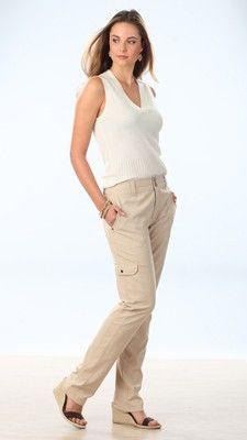 Tall Safari Cargo Pants for Women | Long Elegant Legs