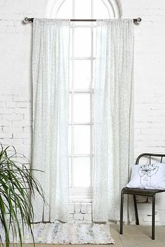Plum  Bow Daydreamer Curtain LINEN SPRING THEMED CURTAIN Drapes Decor and pillows Zara Home