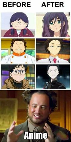 How do they make anime like that? I know the first anime pretty well.