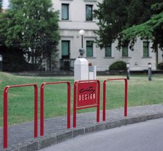 Protective barrier / fixed / metal / for public spaces BASIC : 230310 CITY DESIGN