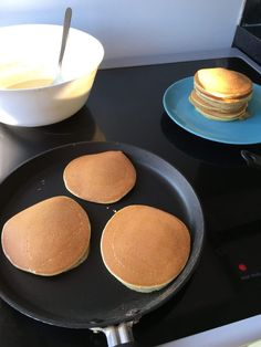 Pancakes - My secret recipe - LEA Think Food, Love Food, Pancakes Weight Watchers, Pancakes Nutella, Snap Food, Food Snapchat, Food Goals, Secret Recipe, Aesthetic Food