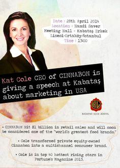 Kat Cole!!