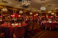 Palmer House Red Lacquer Ballroom