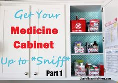 Medicine Cabinet Up to Sniff Part 1