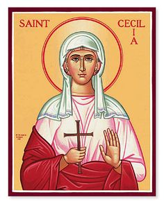 Our St. Cecilia Icon depicts the patron saint of music, learn more about saints and find saint icons for purchase at Monastery Icons. Catholic News, Catholic Saints, Patron Saints, Patron Saint Of Music, Incorruptible Saints, Monastery Icons, Dynamic Catholic, Bible Timeline, Christian World
