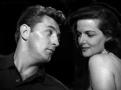 """Robert Mitchum and Jane Russell, """"His Kind Of Woman"""" 1951."""