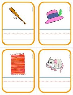 FREE Interactive Phonics Segmenting Flashcards (CVC)