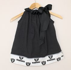 Oakland Raiders PillowCase Dress
