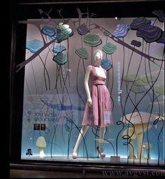 Window Display for ISETAN, a department store in Japan designed by VM -PRZEMEK SOBOCKI