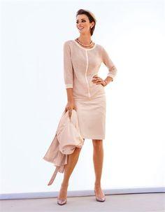 Skirt, Necklace, Slingback heels, Jumper