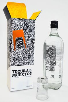 I'm thinking about Halloween. Tequila Muertos love it packaging PD