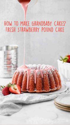 Delicious Cake Recipes, Yummy Cakes, Yummy Food, Pound Cakes, Pound Cake Recipes, Baking Recipes, Snack Recipes, Dessert Recipes, Tammys Recipe