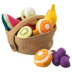 fruit basket set DUKTIG - Ikea for Work - Frozen Fruit Recipes Articles Pour Enfants, Childrens Room, Ikea Duktig, Baby Activity Toys, Design Ikea, Fruit Names, Vegetable Boxes, Little Chef, Coping Skills