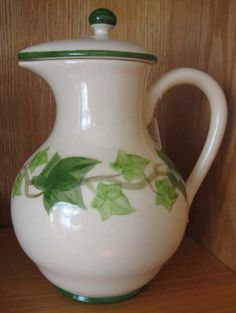 $265  Franciscan Ivy Coffee Pot....luscious green ivy...