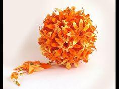 """Daisy flower origami. """"Marguerite"""" Mio Tsugawa. House and table decorati..."""