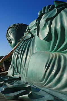 Great #Buddha statue at Nanzoin Temple, #Fukuoka, #Japan