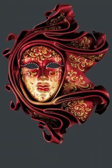 wall venetian masks - Original Venice Shop
